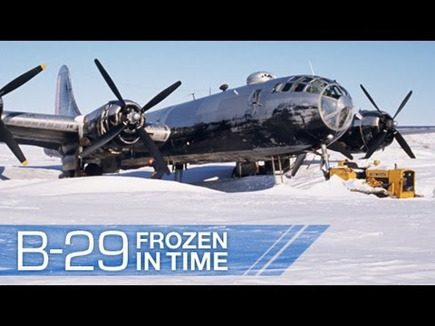 B-29 Frozen in Time