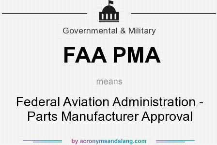 How to Find FAA PMA Approvals on the FAA Website