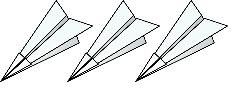 3 plane emojis