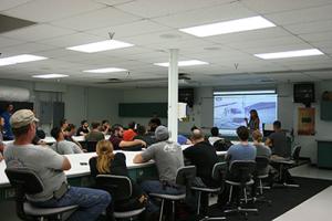 careers instructor classroom
