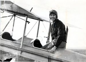 Amy Johnson (1903 - 1941) Pioneer aviator, who drowned after bailing out over the Thames estuary. Picture shows Amy Johnson